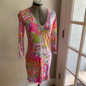 Lilly Pulitzer pima cotton t-shirt dress, Sz S